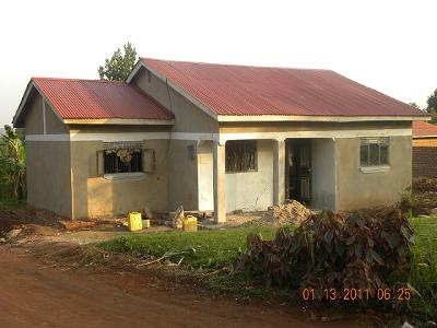 65m 3 bedroomed house in buwate for Types of houses in kenya