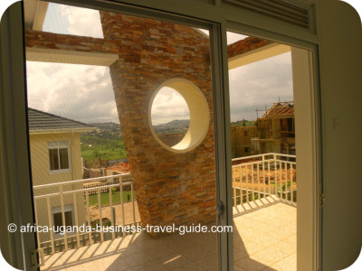 House1 for sale Lubowa Kampala Uganda- Balcony
