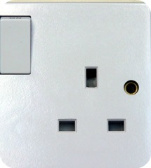 British System Socket in Uganda