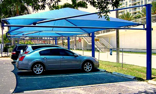 Car Parking Shade in Africa