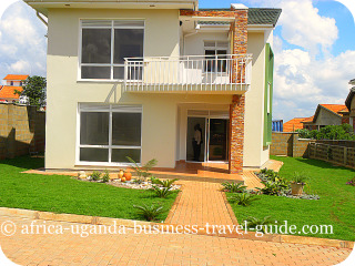 House1 for sale Lubowa Kampala Uganda- Front View