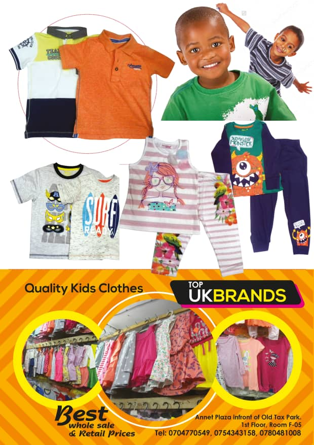 Buy Top Quality Kids Clothes in Uganda Kampala