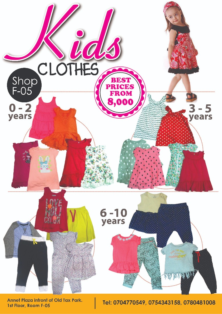 Top Quality Kids Clothes in Uganda Kampala made affordable