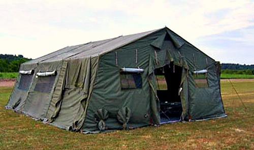 Military Green Cabin Tent & Uganda Tent Guide