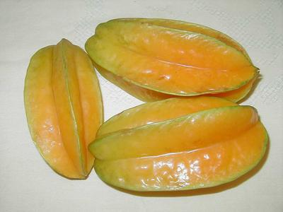 Star fruits, in Africa Uganda