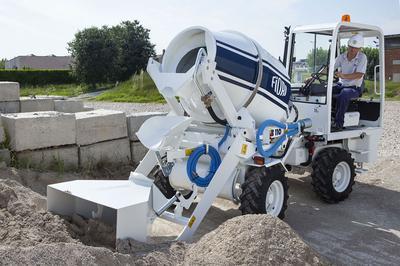 Fiori 460 Cbv.Before You Buy A Fiori Db 460 Cbv Self Loading Concrete Mixer In