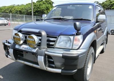 Toyota Prado TX in Uganda