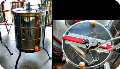 Honey Centrifuge Extractor to Use in Uganda , Africa