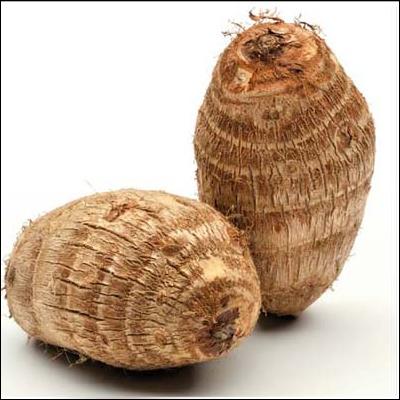Cocoyams in Uganda