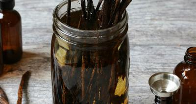 Making Vanilla Extract
