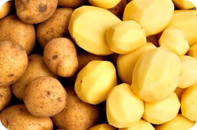Peeled and Un-peeled Irish Potatoes in Uganda
