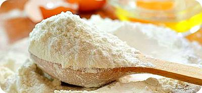 Maize Flour on Sppon
