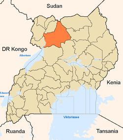 Gulu District in Uganda