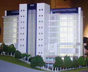 New DFCU Bank Complex Artistic Impression