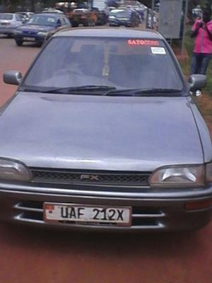 Toyota Fx in Uganda, Africa, Closer Front View