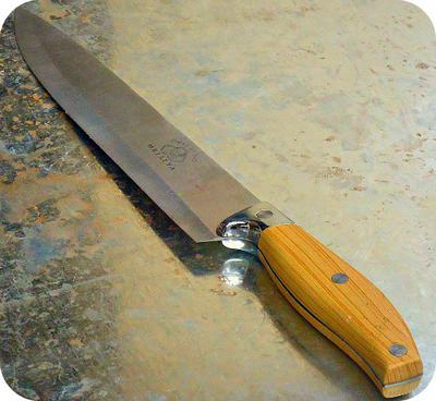 Honey Beehive knife for Uganda, Africa