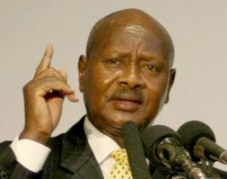Yoweri Kaguta Museveni , President of the Republic of Uganda