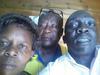 Sr. Ruth, J. Kamya and Jonathan Mugerwa at Mulago Hospital on Thursday 19th Jan 2017
