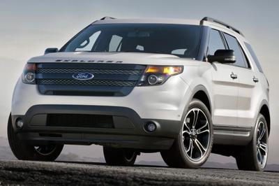 Ford Explorer 2014 in a turbo loaded car