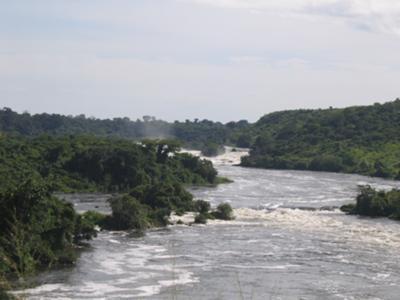 Karuma Falls Uganda Africa