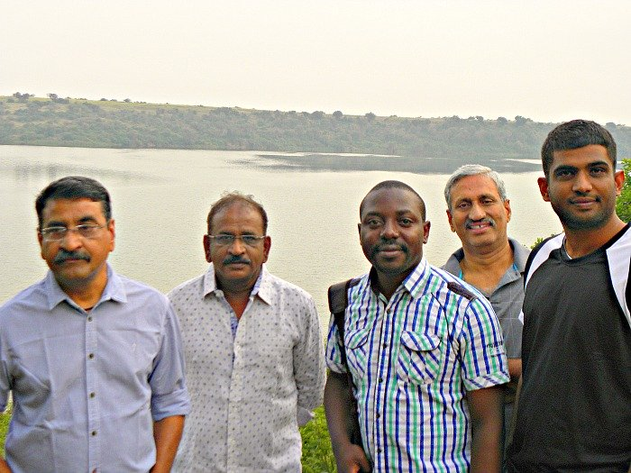 After a week long Uganda Real Estate Business Feasibility Assessment; it was time for Me to lighten up with these Indian Investors, turned Friends, at the Kazinga Channel -QENP.