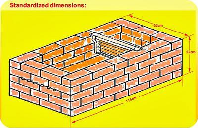 Frame Brick Beehive