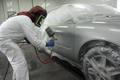 Painting your car in Africa