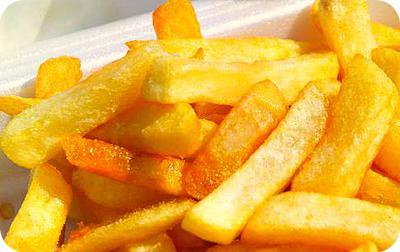 Potato Chips a.k.a Fries in Uganda
