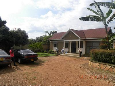 Mpererwe Uganda Home- Front View 2