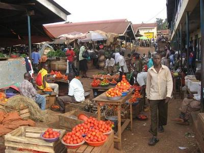 Owino Market in Uganda
