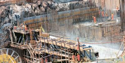 Bujagali Hydro-power Dam Construction