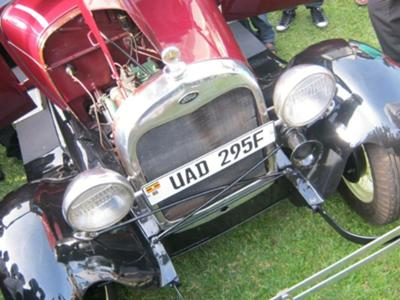 Ford 1928 At the Uganda Autoshow 2012