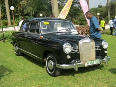 Mercedes Benz Uganda Autoshow 2012