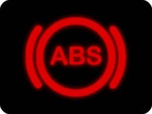 Car ABS indicator